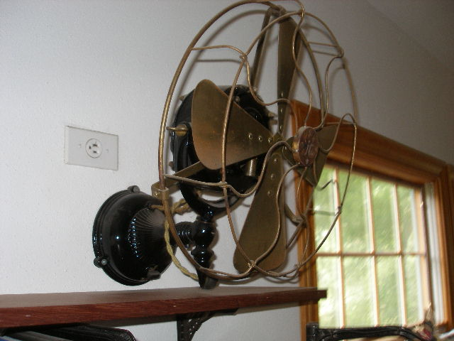 Wall Mounted Ceiling Fans : Antique electric fans