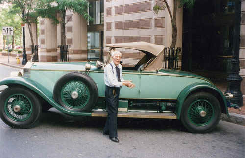 A photo of a 1928 Rolls-Royce Piccadilly P1 Roadster