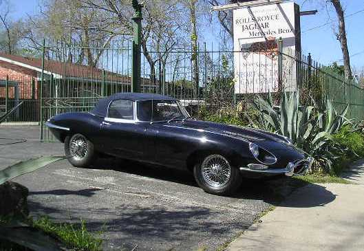 Photo of a 1965 Jaguar E-Type Roadster