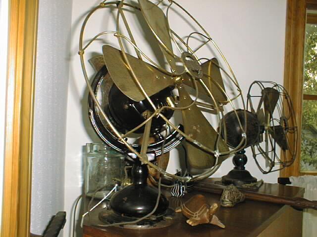 Antique Electric Ceiling Fans Desk Fans And Wall Fans